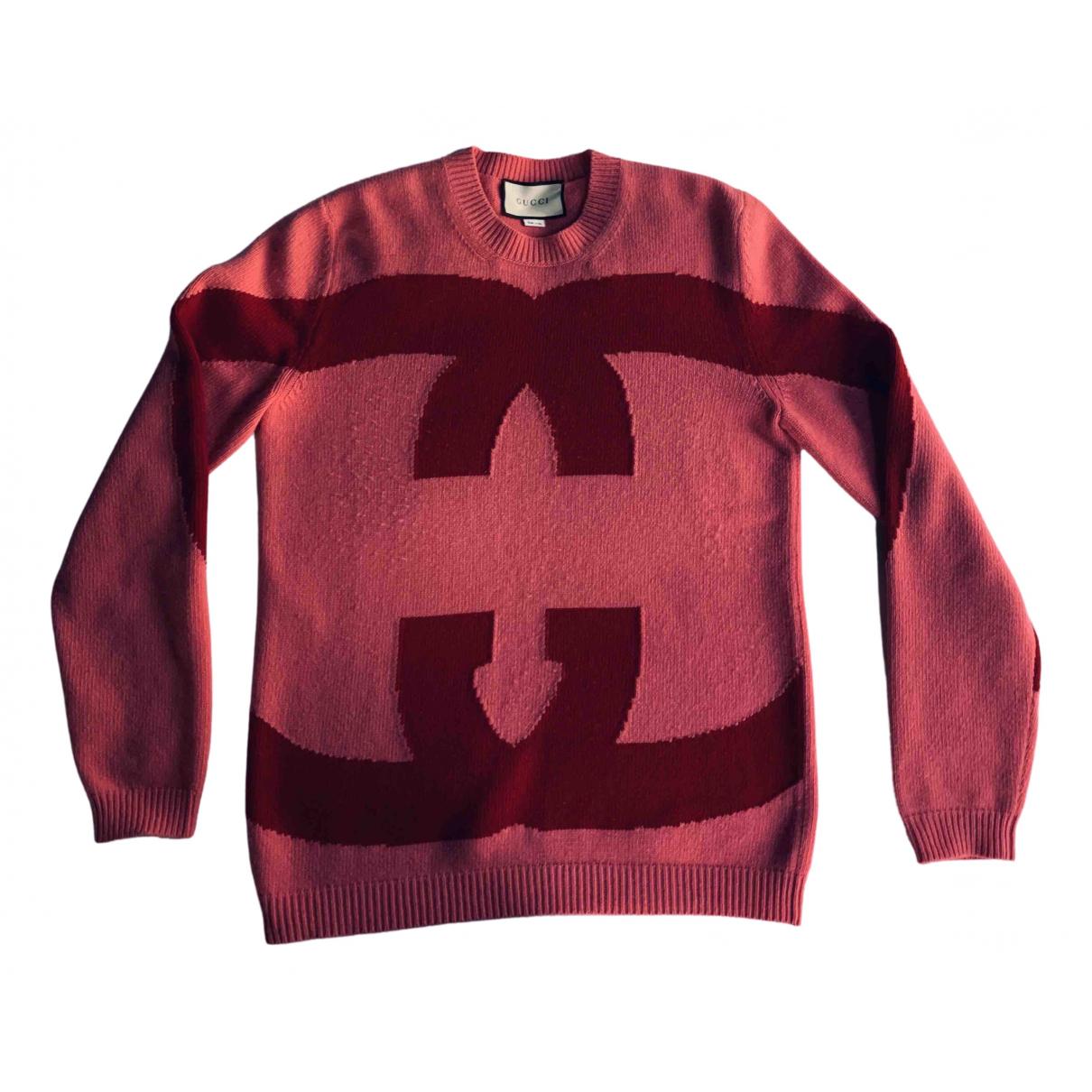 Gucci N Pink Wool Knitwear for Women M International