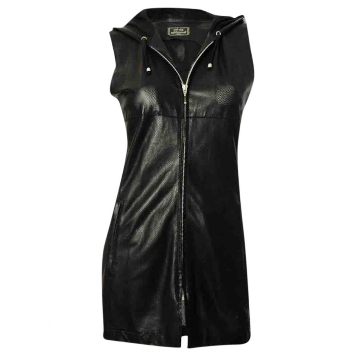 Sylvie Schimmel \N Black Leather jacket for Women 38 FR