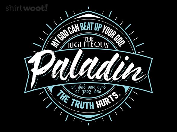 The Paladin T Shirt