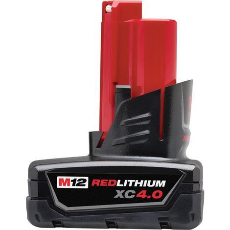 Milwaukee M12™ Redlithium™ XC 4.0Ah Extended Capacity Battery Pack