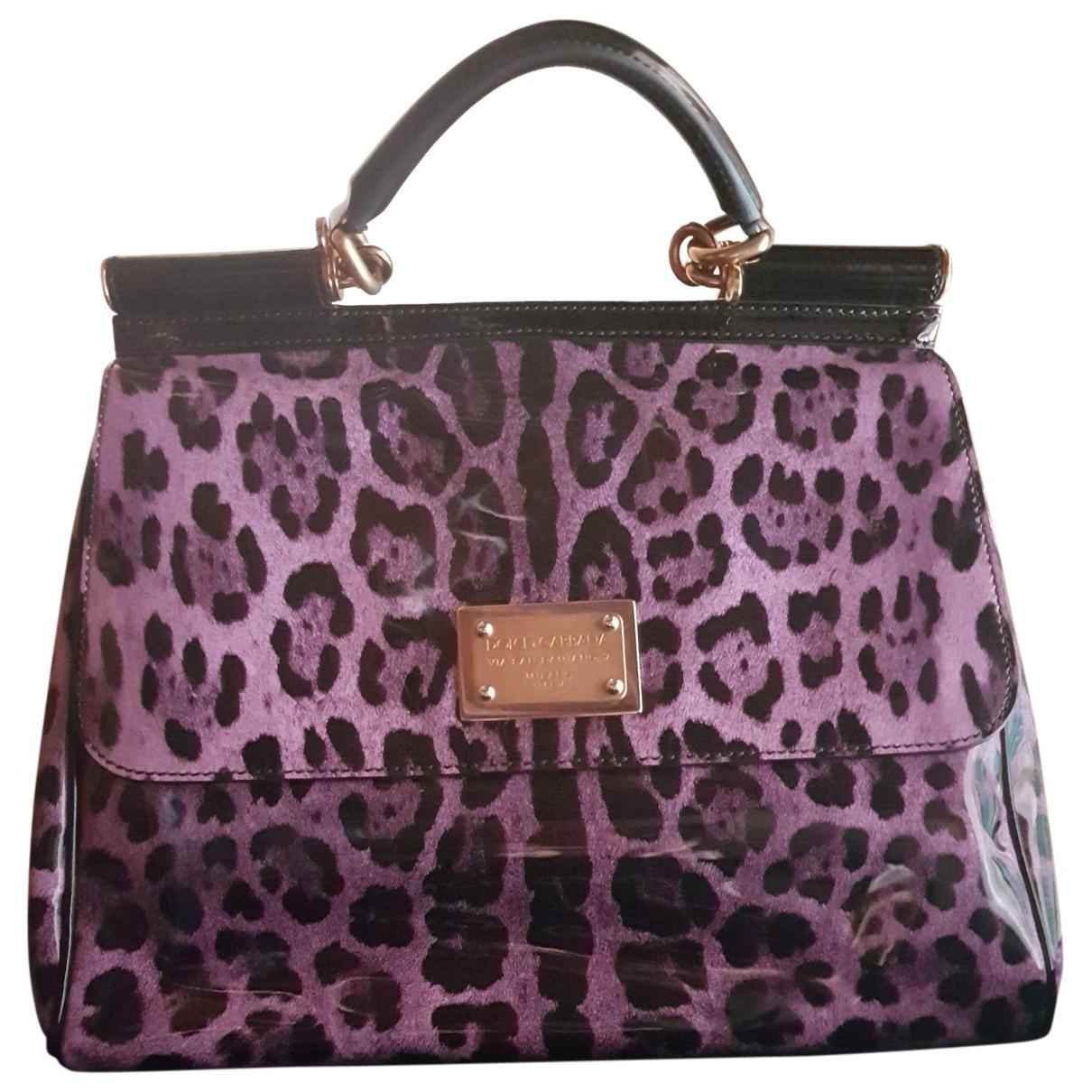 Dolce & Gabbana Sicily 62 Multicolour Patent leather handbag for Women \N