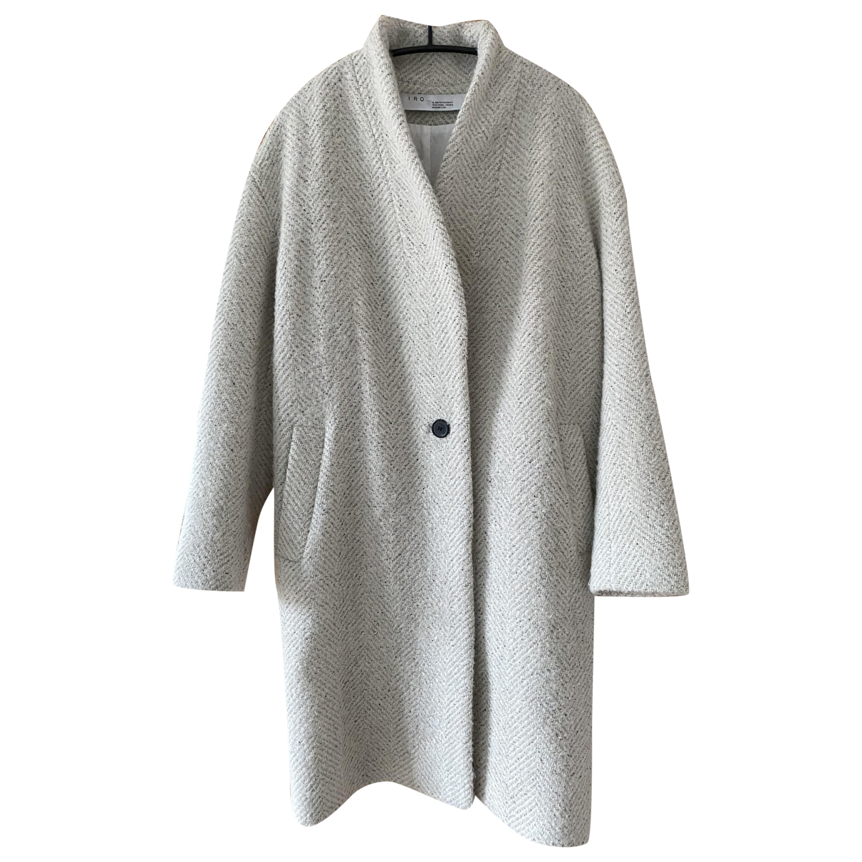 Iro - Manteau Fall Winter 2019 pour femme en laine - gris