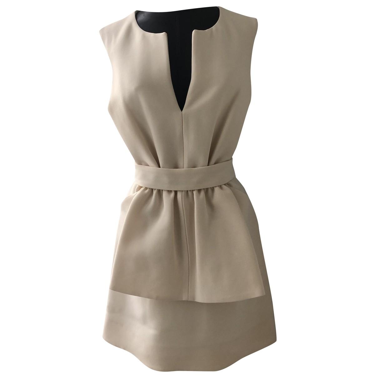 Fendi N Beige Cotton dress for Women 34 FR