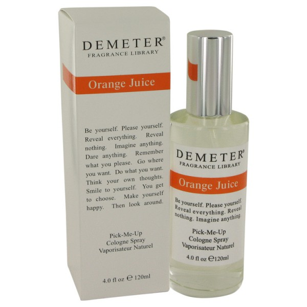 Demeter - Orange Juice : Cologne Spray 4 Oz / 120 ml