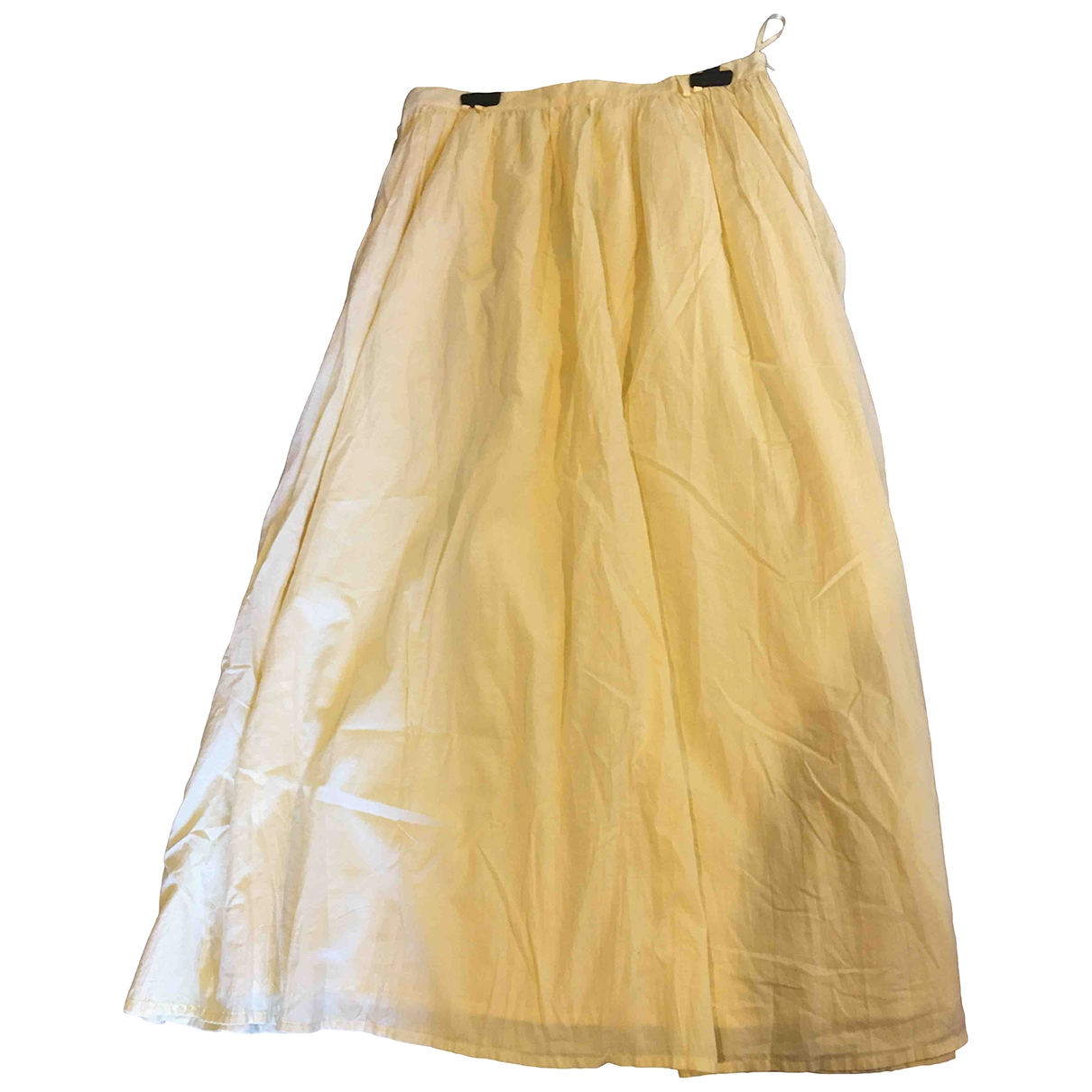 Tommy Hilfiger \N Yellow Cotton skirt for Women 10 US