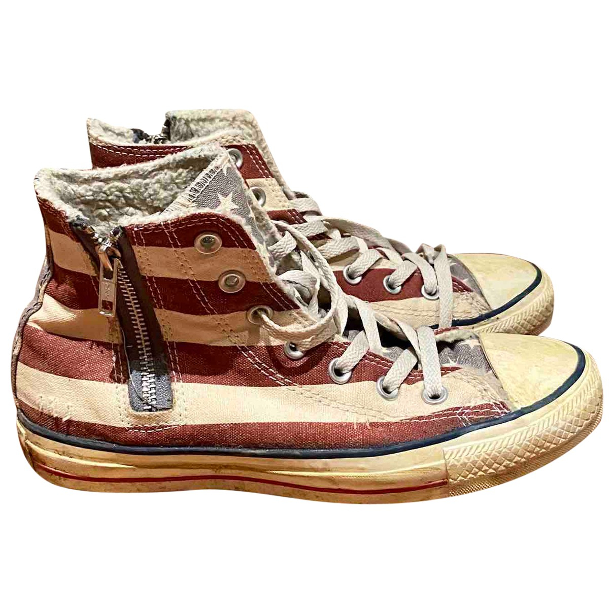 Converse N Multicolour Cloth Ankle boots for Women 5.5 UK