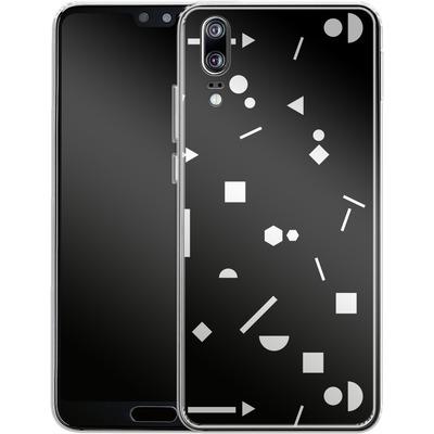 Huawei P20 Silikon Handyhuelle - My Favourite Pattern 3 von Mareike Bohmer