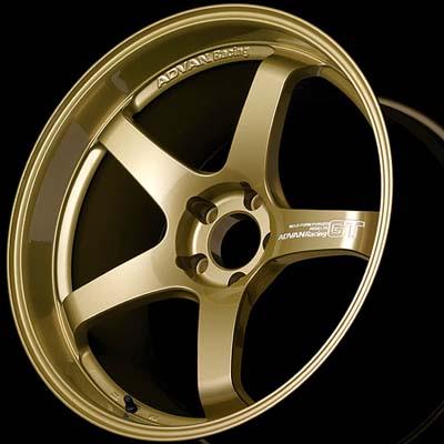 Advan GT Premium Wheel 20X12 5x114.3 20mm Gold Premium