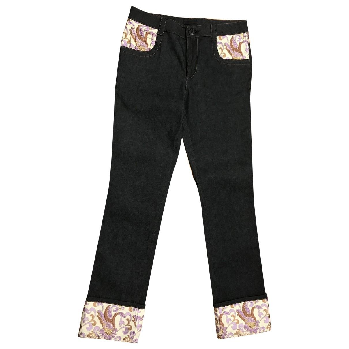 Prada \N Blue Denim - Jeans Trousers for Women 44 IT
