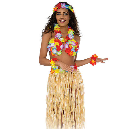 Hula Kit Costume, One Size , Multiple Colors