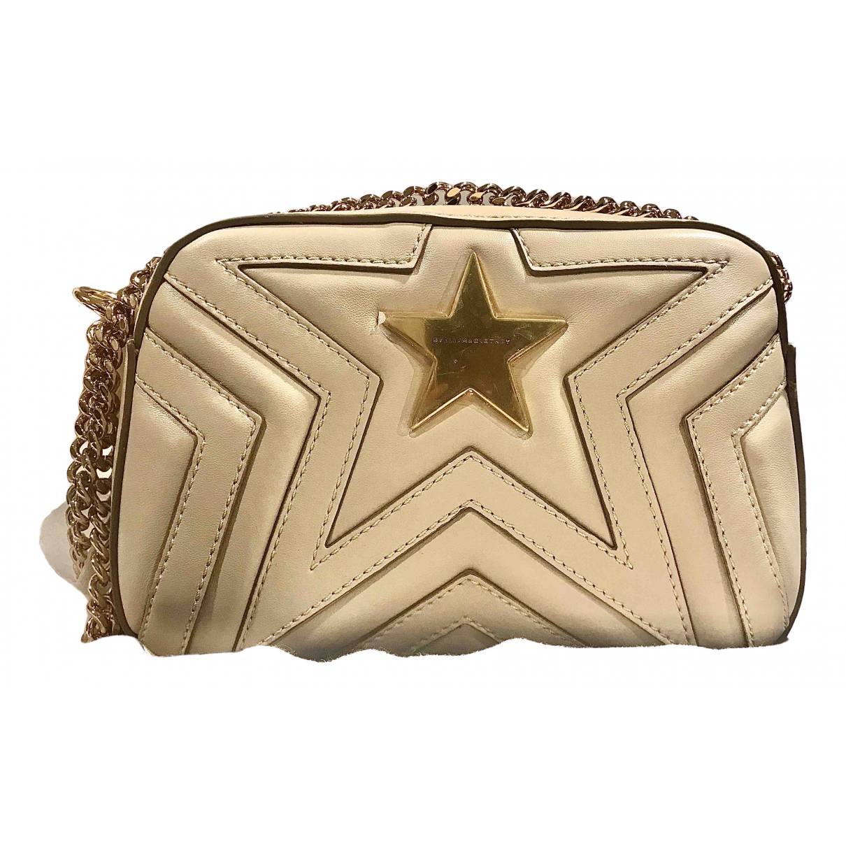Stella Mccartney Stella Star Handtasche in  Beige Polyester