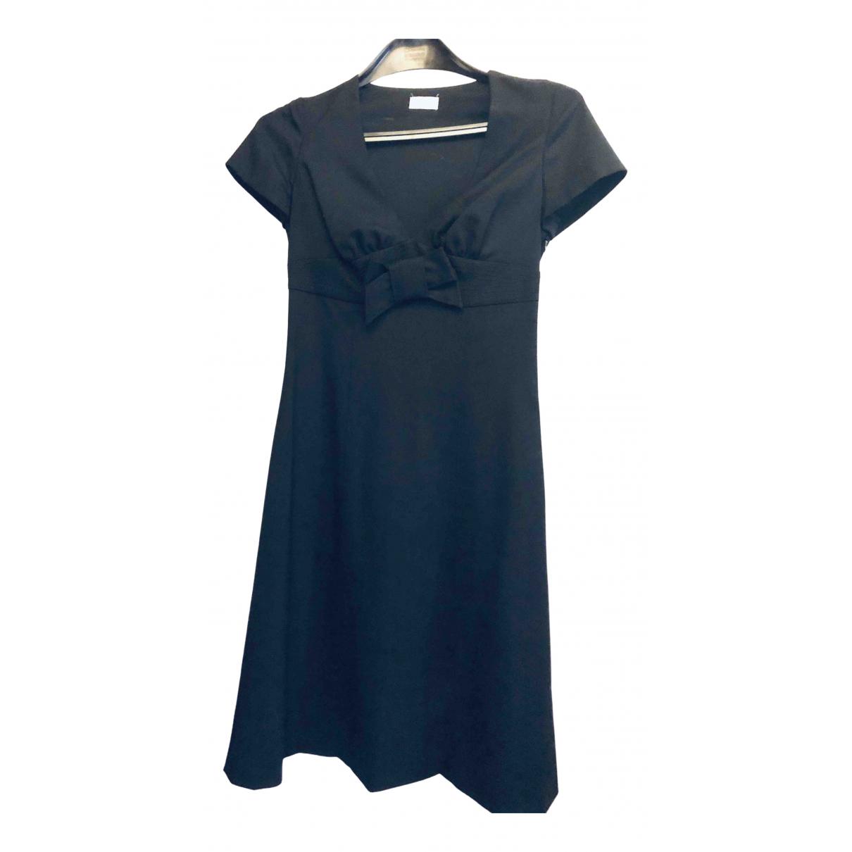 Valentino Garavani \N Kleid in  Schwarz Wolle