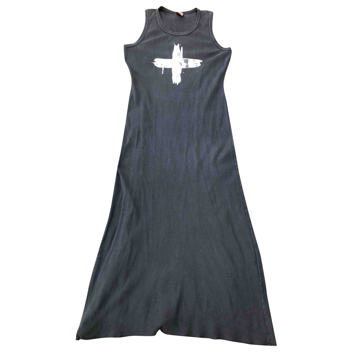 Jean Paul Gaultier \N Black Cotton dress for Women 38 FR
