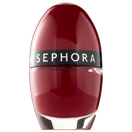 SEPHORA COLLECTION Color Hit Mini Nail Polish, One Size , Red