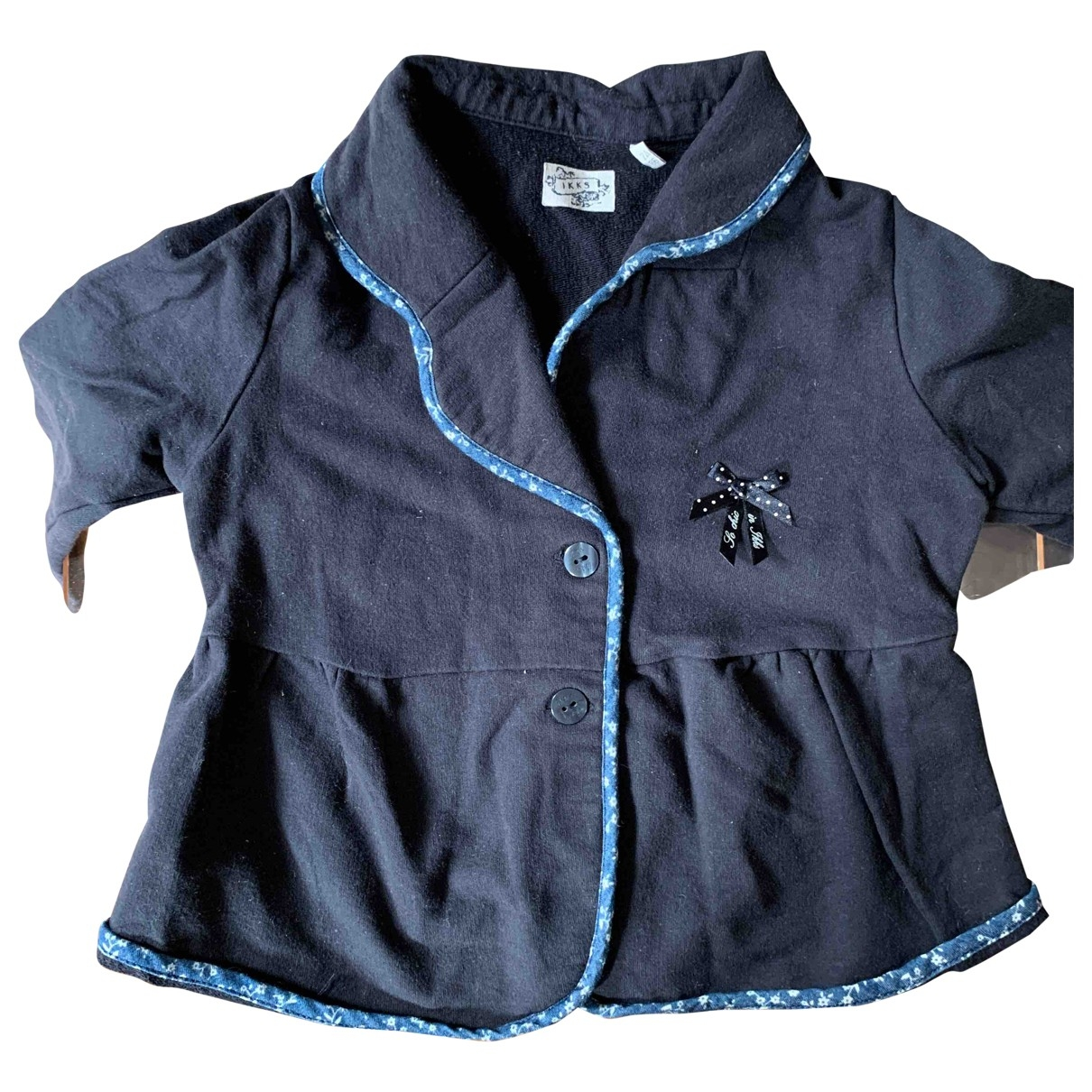 Ikks \N Blue Cotton jacket & coat for Kids 2 years - up to 86cm FR