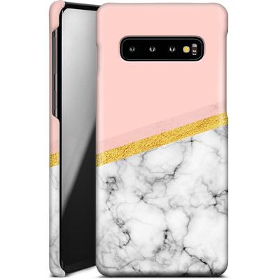 Samsung Galaxy S10 Smartphone Huelle - Marble Slice von caseable Designs