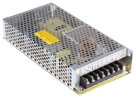 Mean Well , 156W Embedded Switch Mode Power Supply SMPS, 24V dc, Enclosed