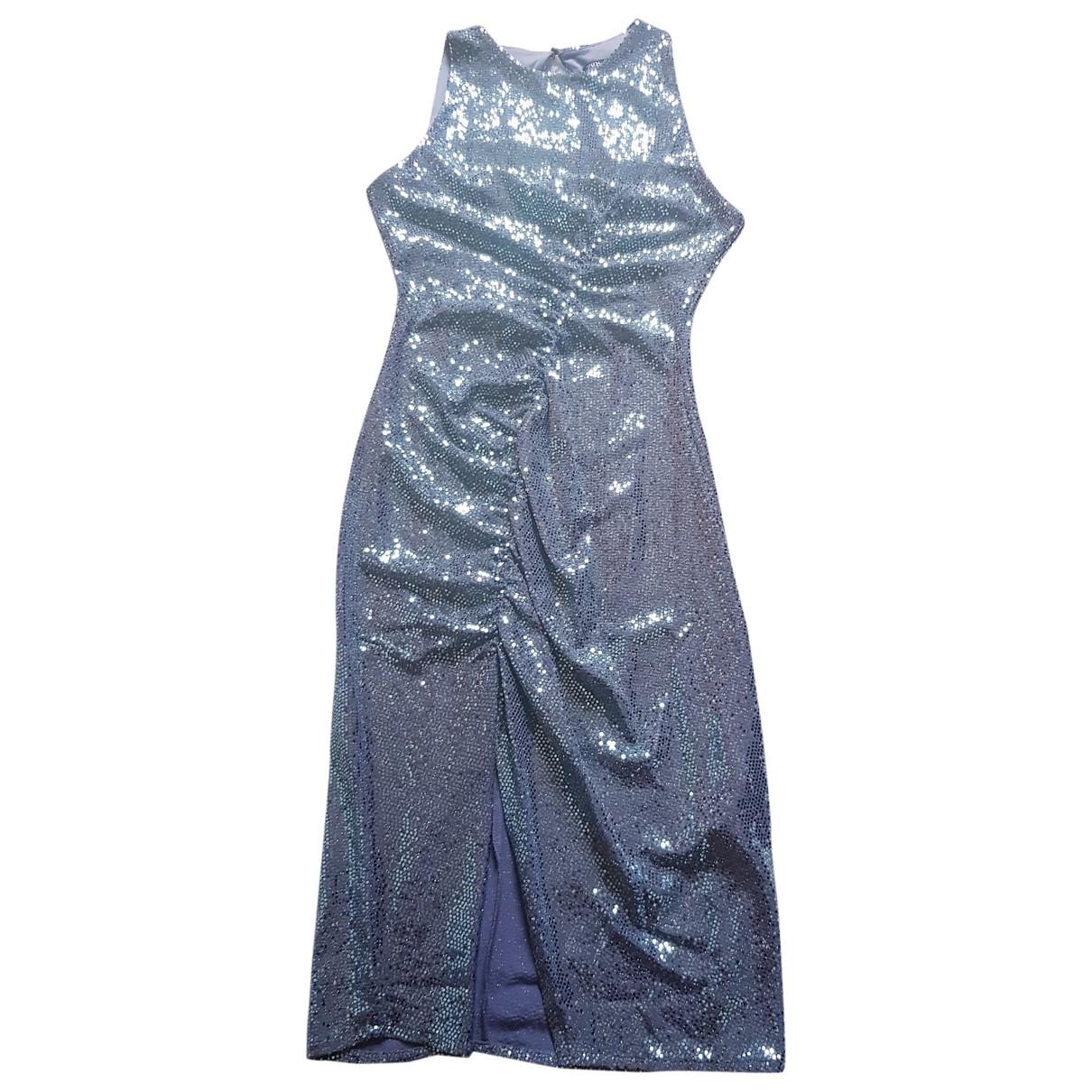 Zara - Robe   pour femme en a paillettes - vert
