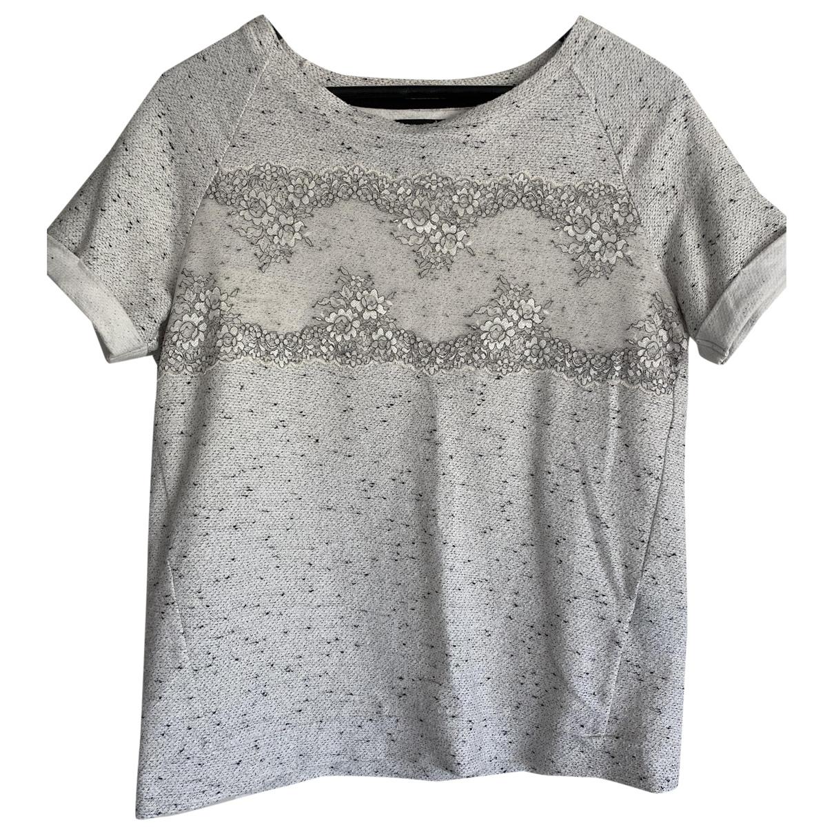Second Female - Top   pour femme en coton - ecru