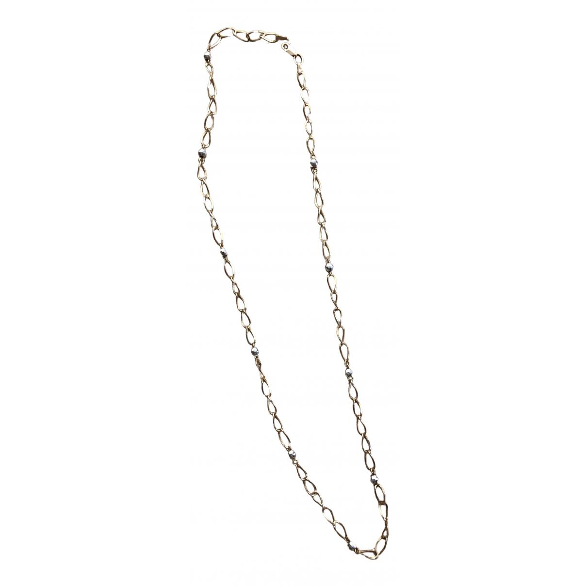 - Collier Chaines pour femme en or jaune - jaune