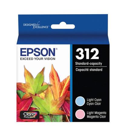 Epson T312922 Original Ink Cartridge Combo Light Cyan / Light Magenta