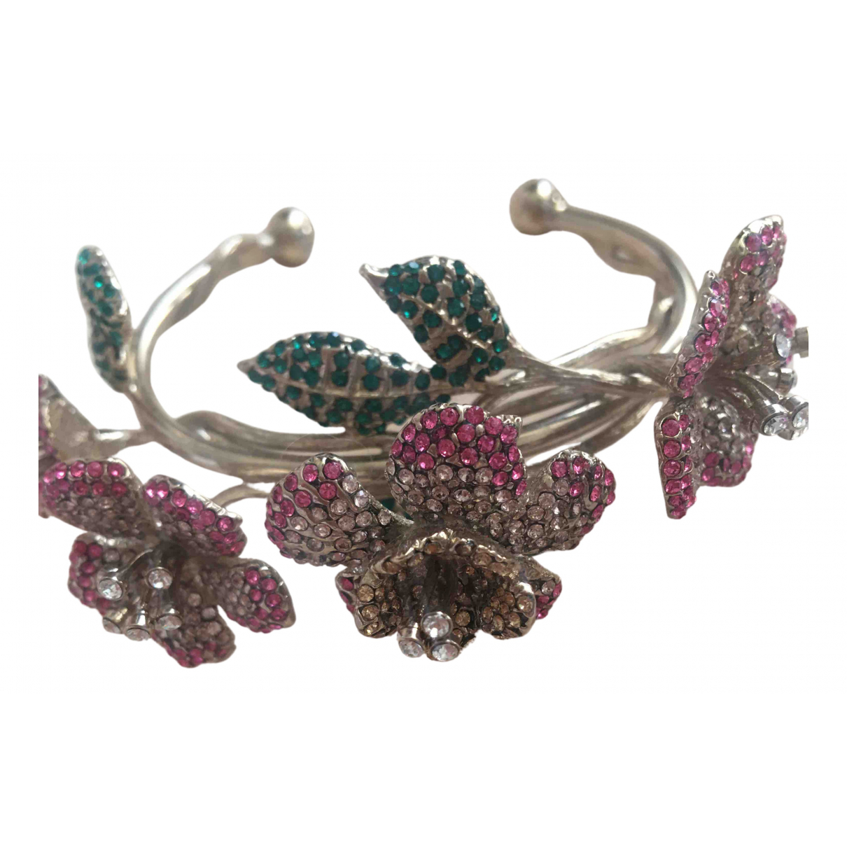 Valentino Garavani - Bracelet   pour femme en argent - multicolore