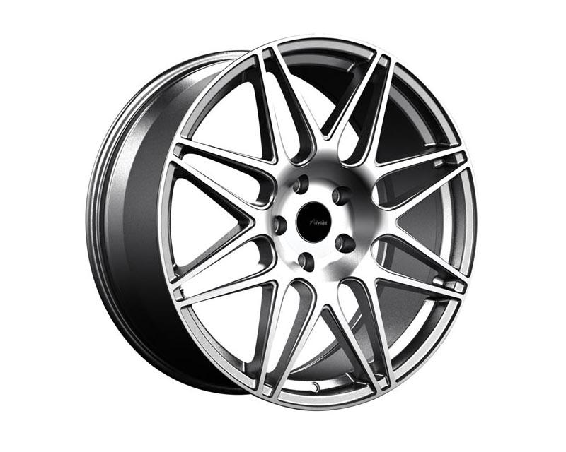 Advanti Racing Classe Wheel 19x8.5 5x114.3 35 SLMCXX Silver Machine Face