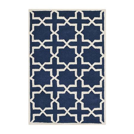 Safavieh Celestine Geometric Hand Tufted Wool Rug, One Size , Blue