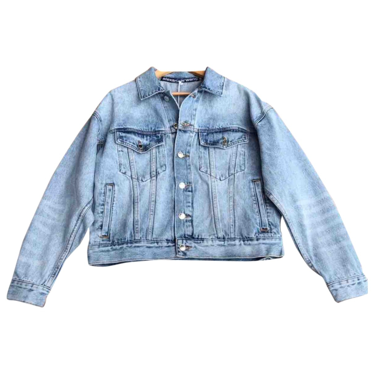 Alexander Wang \N Blue Cotton jacket for Women XS International