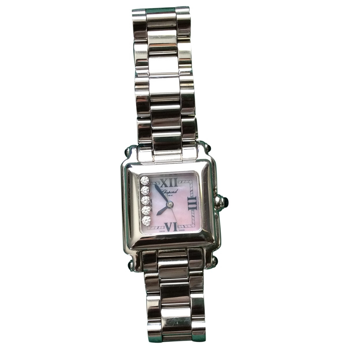 Chopard Happy Diamonds Pink White gold watch for Women \N