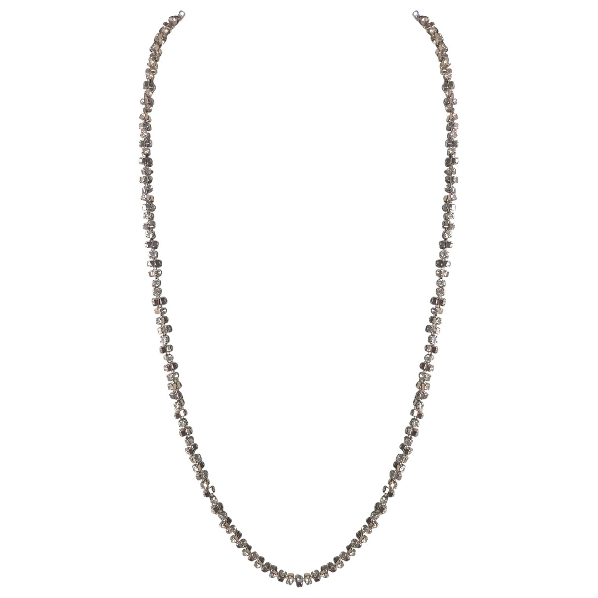 Non Signé / Unsigned \N Crystal necklace for Women \N