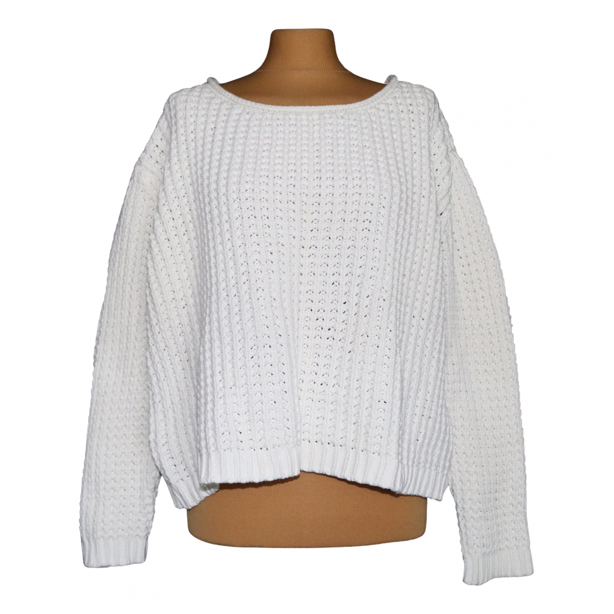 Acne Studios - Pull   pour femme en coton - ecru
