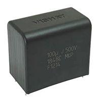 Vishay 3μF Polypropylene Capacitor PP 1.2kV dc ±5% Tolerance Through Hole MKP1848C DC-Link Series