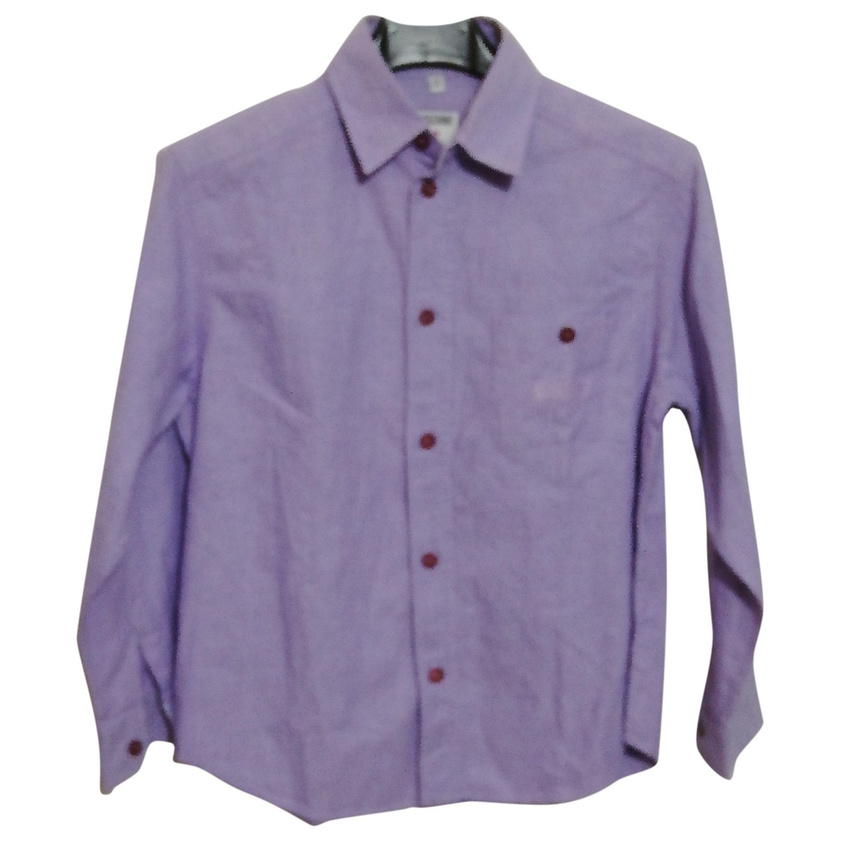 Moschino - Top   pour enfant en coton - violet