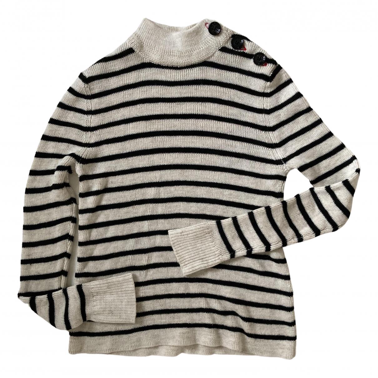 Isabel Marant Etoile \N Pullover in  Weiss Leinen