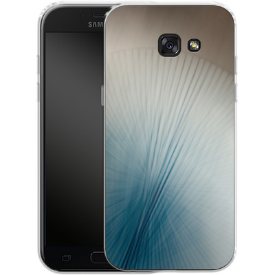 Samsung Galaxy A5 (2017) Silikon Handyhuelle - Blue Lines 2 von Joy StClaire