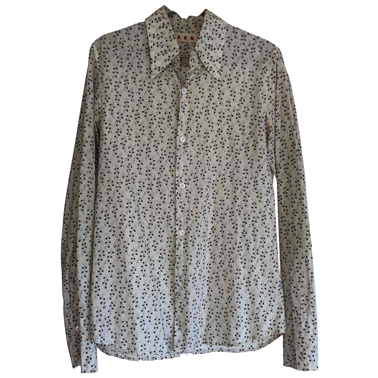 Marni \N Beige Cotton Shirts for Men S International