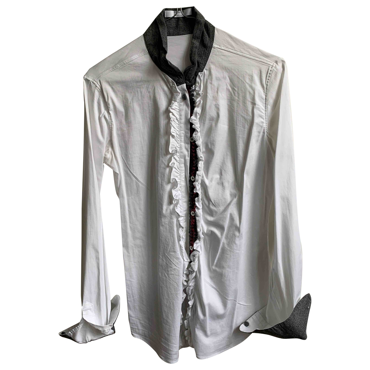 Aglini \N White Cotton  top for Women L International