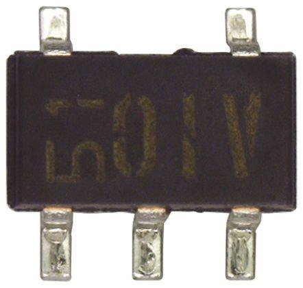 ROHM , FMG9AT148, Dual NPN Digital Transistor, 100 mA 10 kΩ, Ratio Of 1, 5-Pin SMT (10)