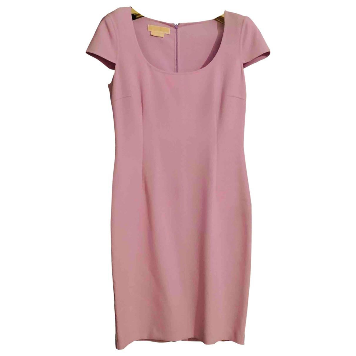 Michael Kors \N Kleid in  Lila Baumwolle