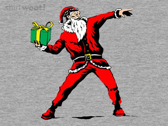 Santa's Rage T Shirt