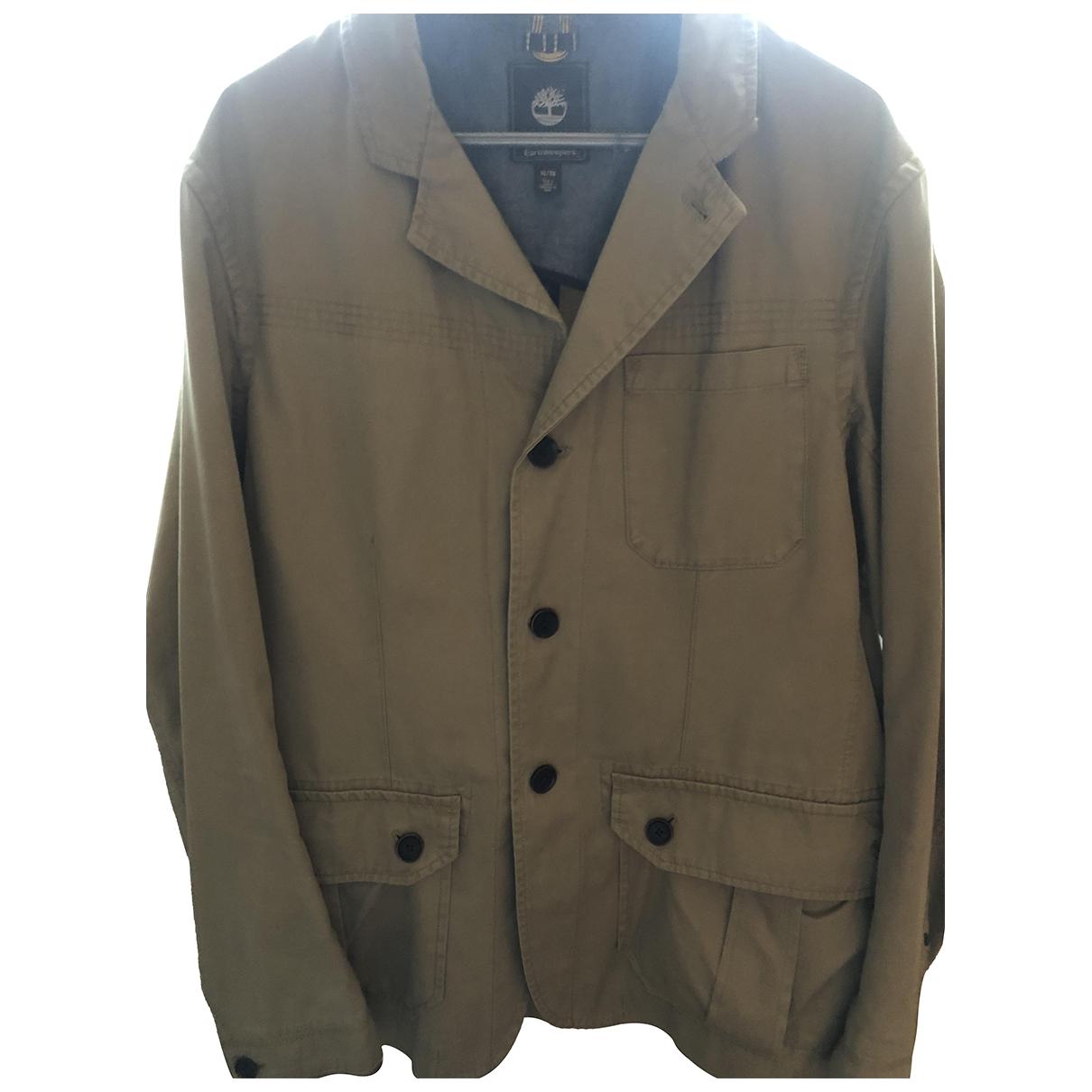 Timberland N Ecru Cotton jacket  for Men XL International