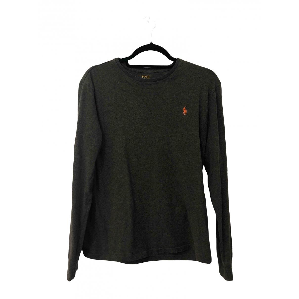 Polo Ralph Lauren - Tee shirts   pour homme en coton - vert