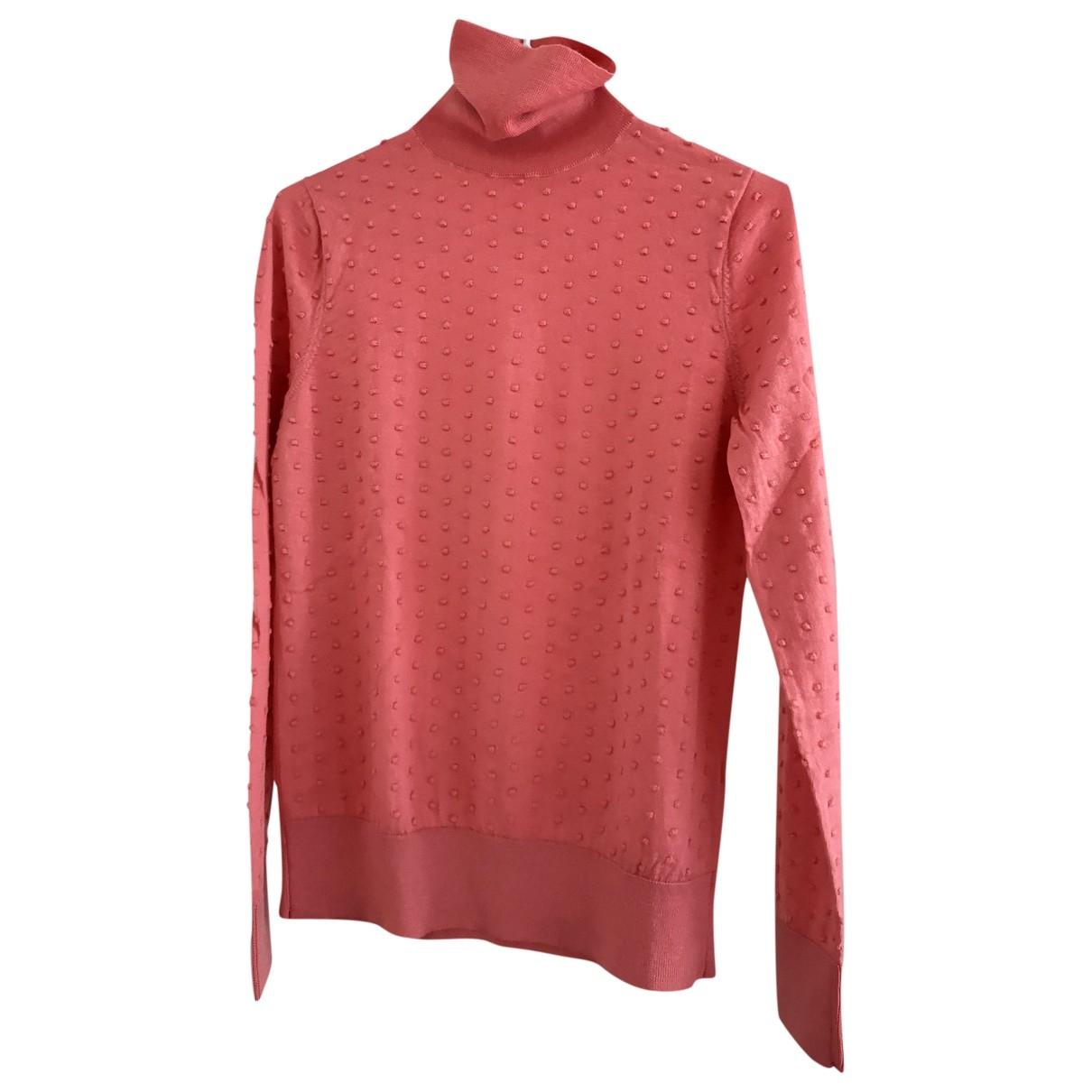 Cos - Pull   pour femme en laine - rose
