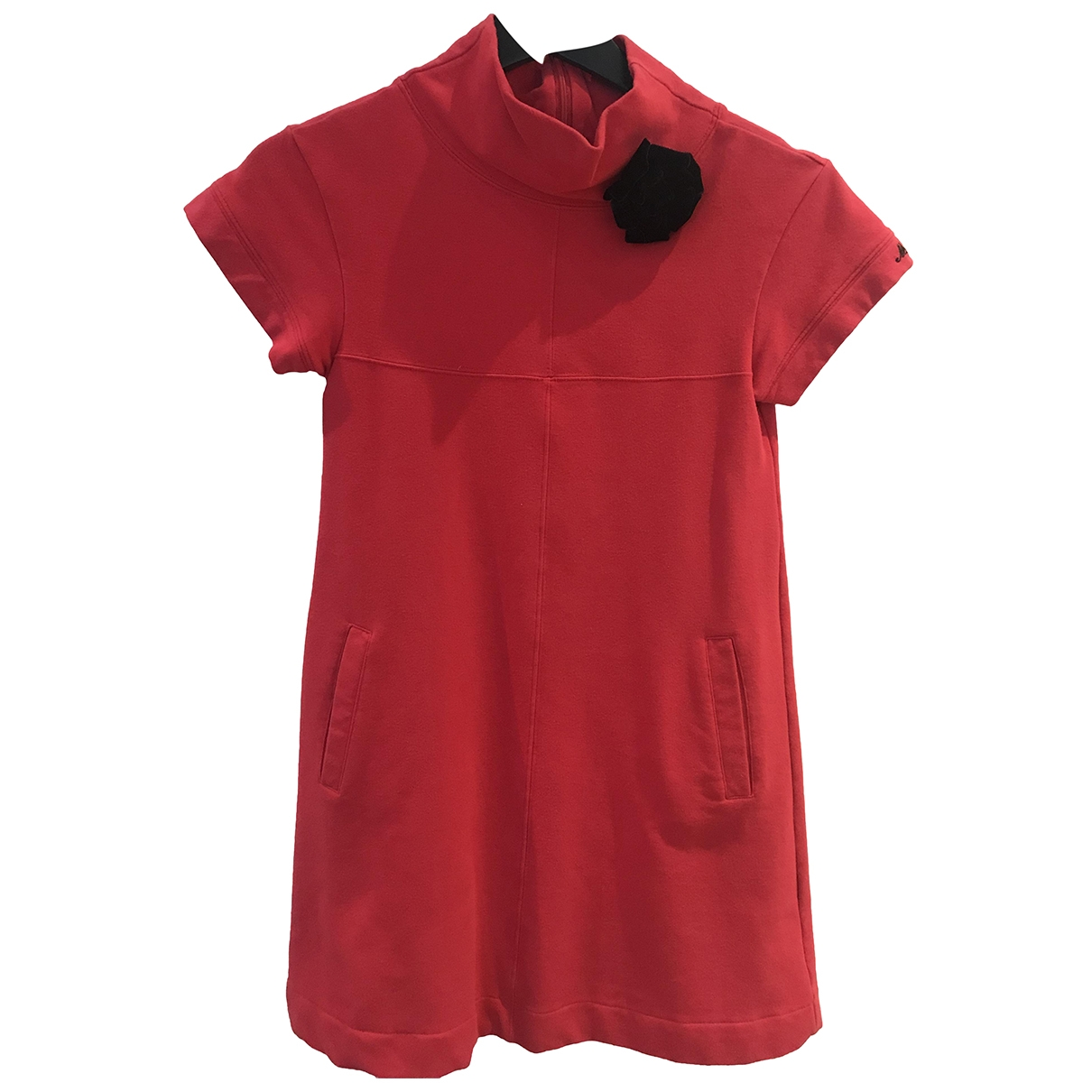 Moschino \N Kleid in  Rot Baumwolle - Elasthan