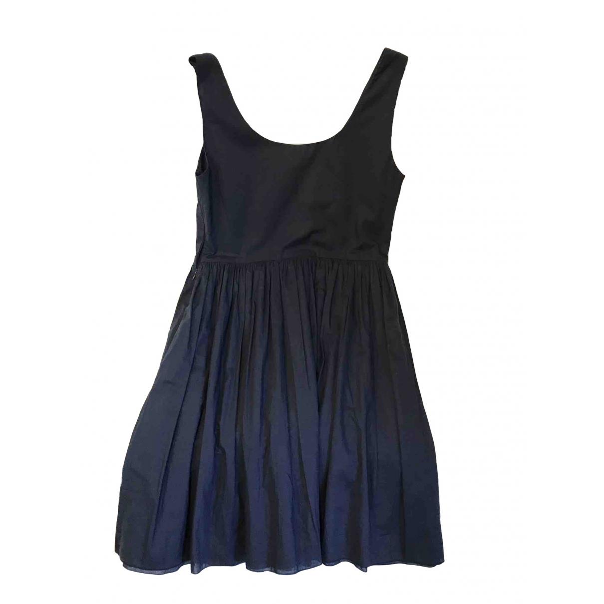 Parosh \N Kleid in  Blau Baumwolle