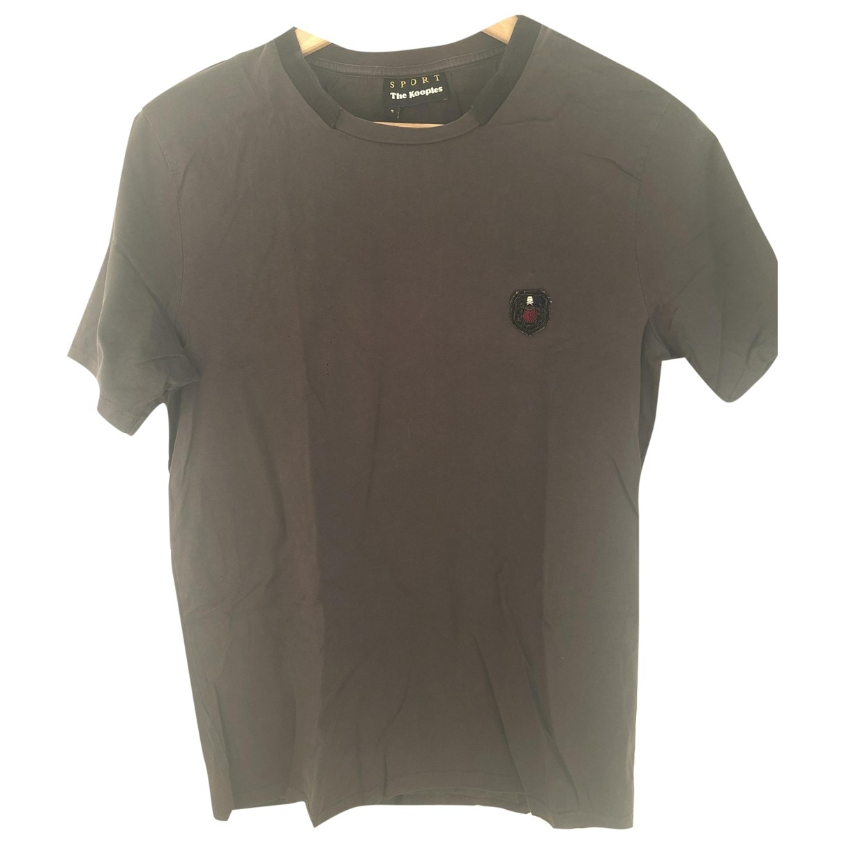 The Kooples \N Grey Cotton T-shirts for Men S International