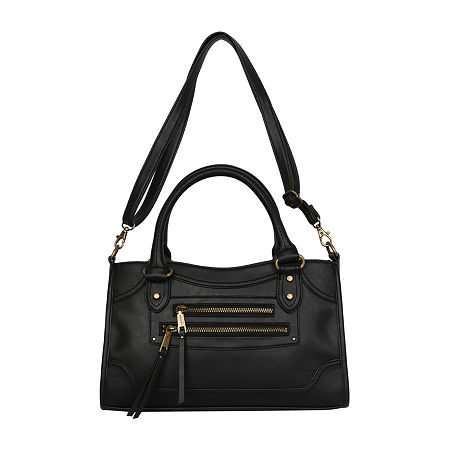 Rosetti Cindy Satchel, One Size , Black