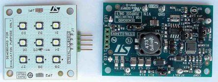 STMicroelectronics STEVAL-ILL049V12, STEVAL LED Driver Evaluation Board for LED6001 for LED Driver