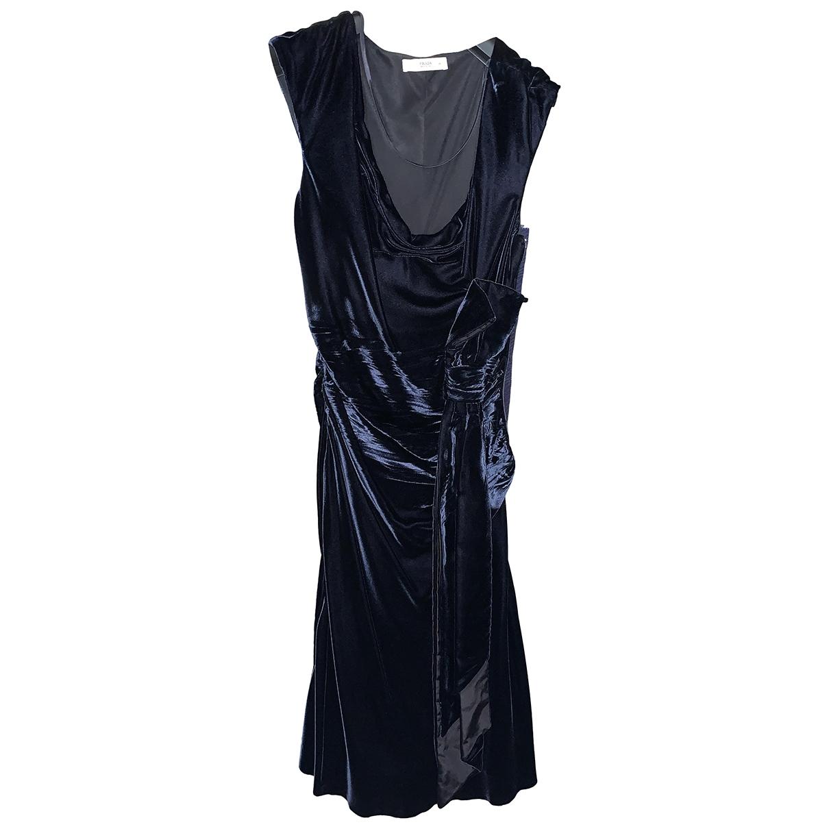 Prada - Robe   pour femme - bleu